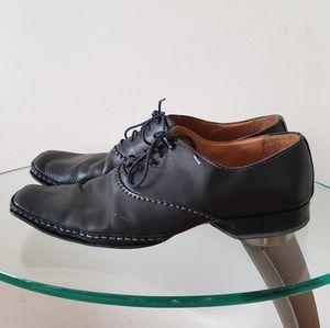 VERO CUIO 100% Italian leather Mens dress shoes